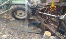 Tragedia a Santa Giuliana: rimorchio del trattore si rovescia e schiaccia un 65enne, morto sul colpo
