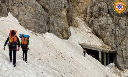 Salgono sul Pasubio ma non sono attrezzate: tre ragazze salvate dal Soccorso Alpino