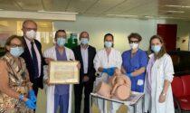 Ospedale S. Bortolo, in Ostetricia un manichino all'avanguardia per esercitazioni sui parti complessi