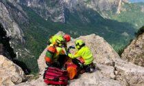 Precipita dal Prion del Cornetto, alpinista 60enne in gravi condizioni