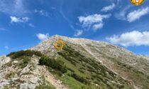 L'escursione si trasforma in un incubo: 48enne scivola per 150 metri