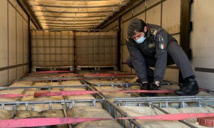 Contrabbando di gasolio agricolo, carburante sequestrato e donato ai Vigili del fuoco