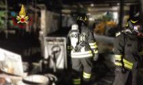 Paura in via Edison a Brendola per l'incendio in un'azienda di stampaggio a caldo di metalli