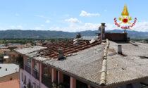 Maltempo: scoperchiato tetto, amianto vola sulle case sottostanti a Montecchio Maggiore