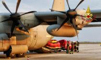 Alluvione Nord Europa, Vigili del fuoco veneti partiti per prestare soccorso