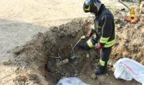 Incidente durante gli scavi per costruire una palazzina, tranciato un tubo del gas