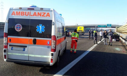 Incidente a Vicenza sull'A31, autista muore sbalzato fuori dal furgone