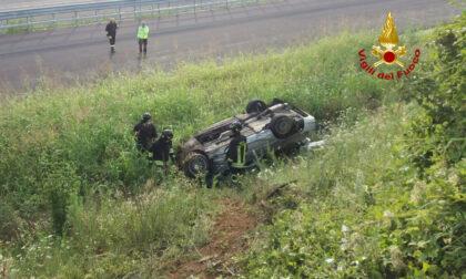 Incidente mortale a Montecchio Maggiore, l'auto finisce sul cantiere della Pedemontana
