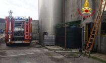 Incendio in una fabbrica di Quinto Vicentino