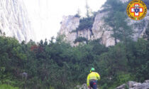 Basejumper vicentino si lancia dalla cima Framont: ritrovato morto in un canale sotto la parete