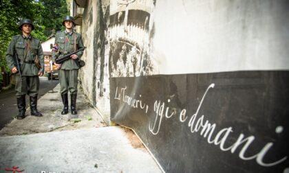 Bufera sul bunker museo a Recoaro: le guide vestite con le divise dei soldati nazisti