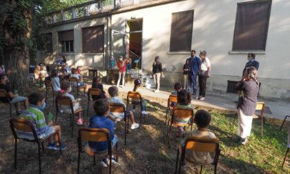 Primo giorno di scuola, le foto del sindaco Rucco e dell'assessore Tolio in visita a tre istituti