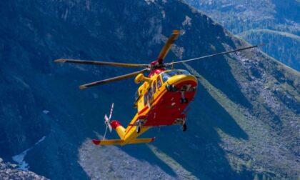 Escursionista vicentina ferita alla testa dopo una caduta in montagna