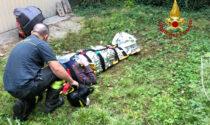 Anziano cade in giardino e non riesce più a rialzarsi: soccorso il giorno dopo
