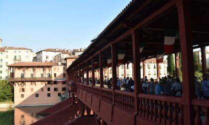 Riapre al pubblico il Ponte Vecchio di Bassano del Grappa, simbolo della città